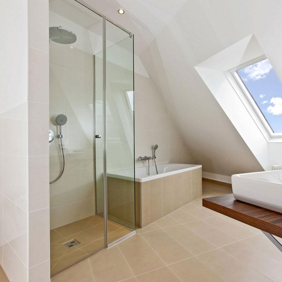 installation douche sur mesure en verre douche tech. Black Bedroom Furniture Sets. Home Design Ideas